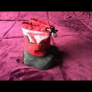 Columbia Little Kids' Powderbug Plus II Snow Boot